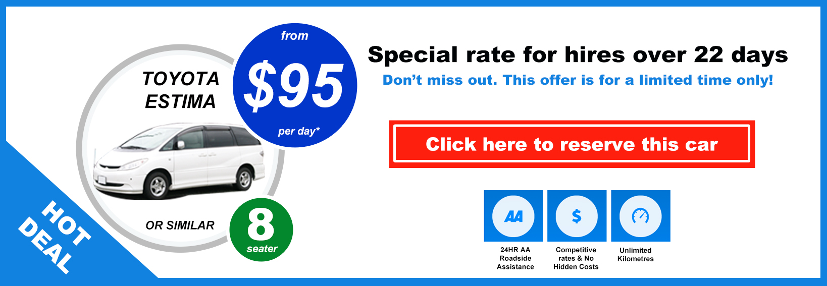 Car Rental Special Deals Auckland - People Mover
