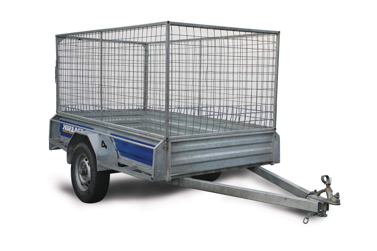 Caged Trailer Rental Auckland