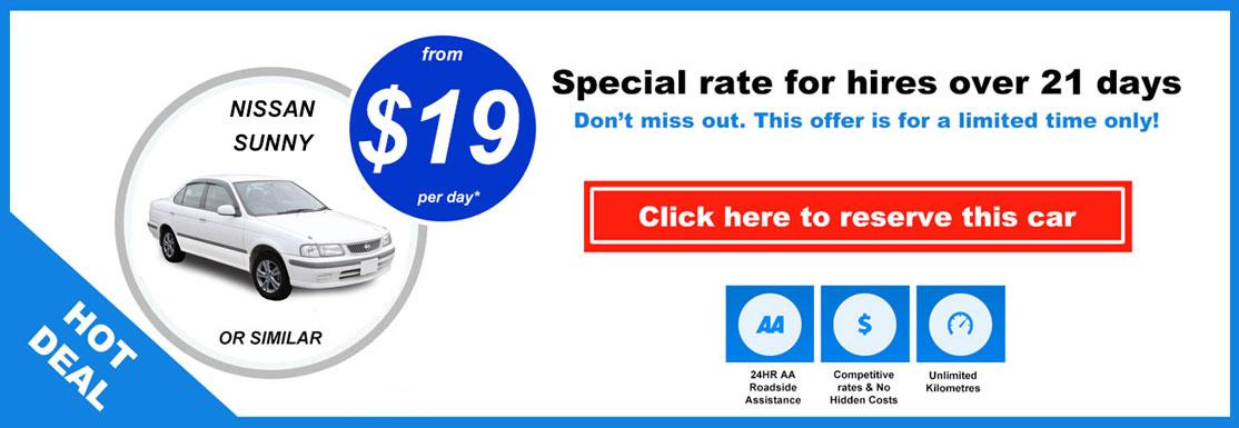 hot deals car rental wellington cheap car hire